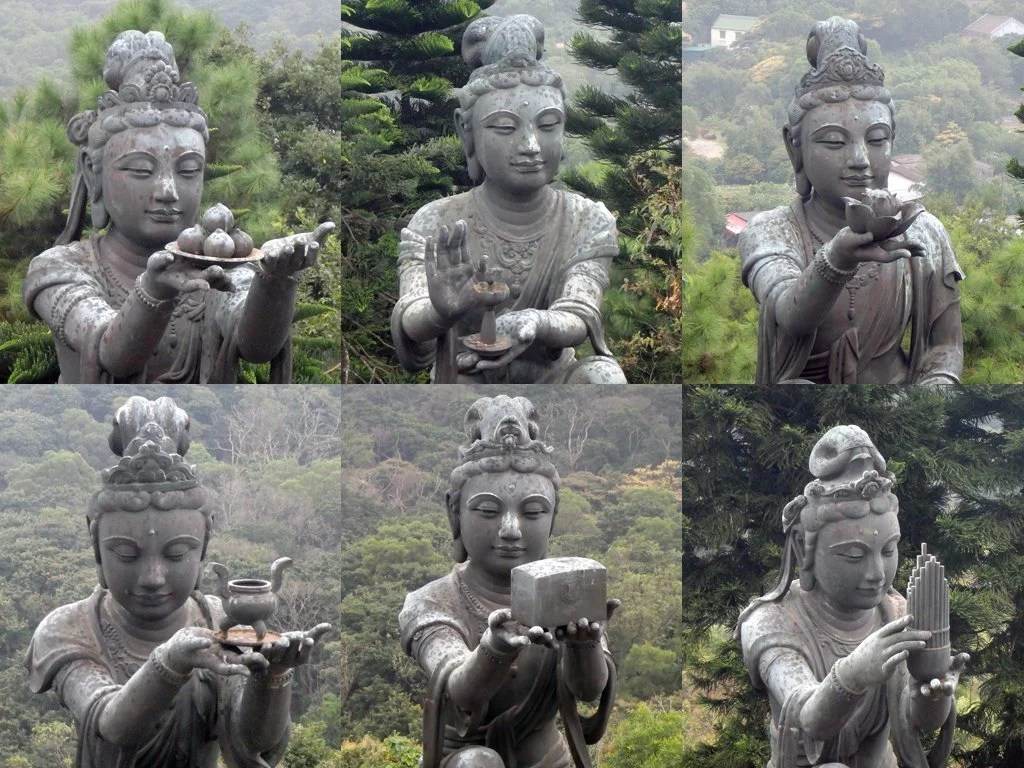 3 - Hong Kong - Po Lin Monastery - Deva composite