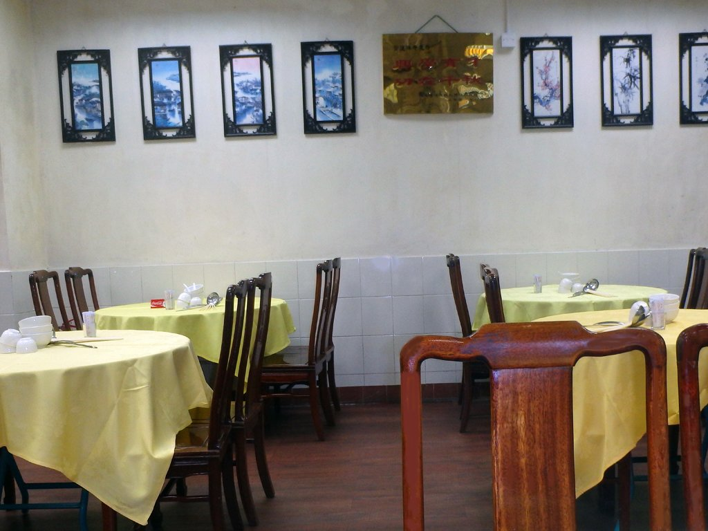7 - Hong Kong - Po Lin Monastery - dining room