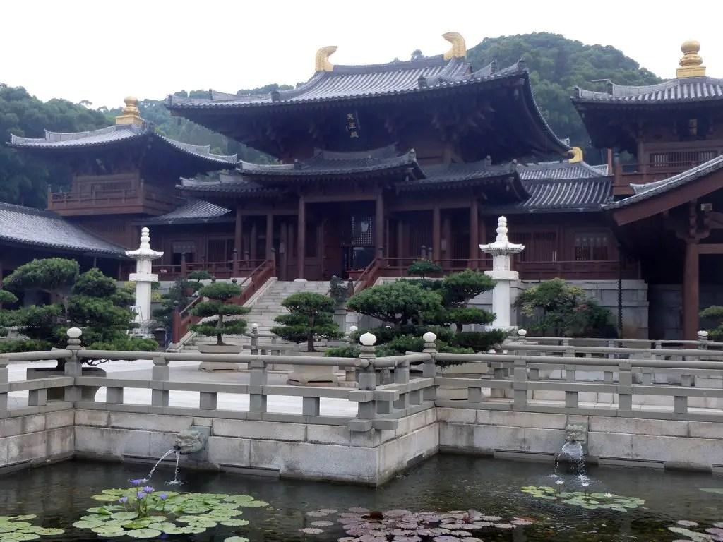 9 - Hong Kong - Chi Lin Nunnery