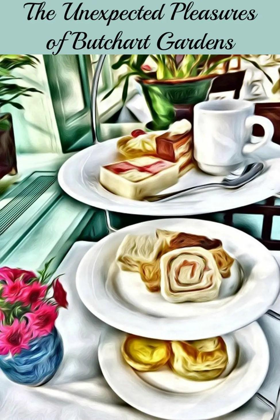High Tea at Butchart Gardens | #Victoria #CulinaryTravel #FoodTravel