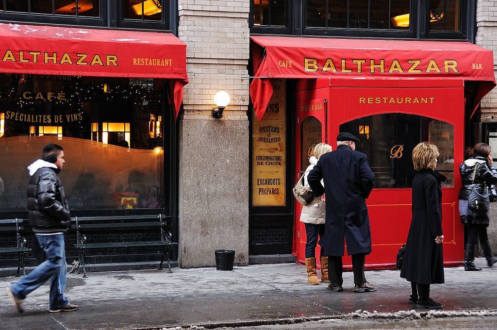 Balthazar, NYC