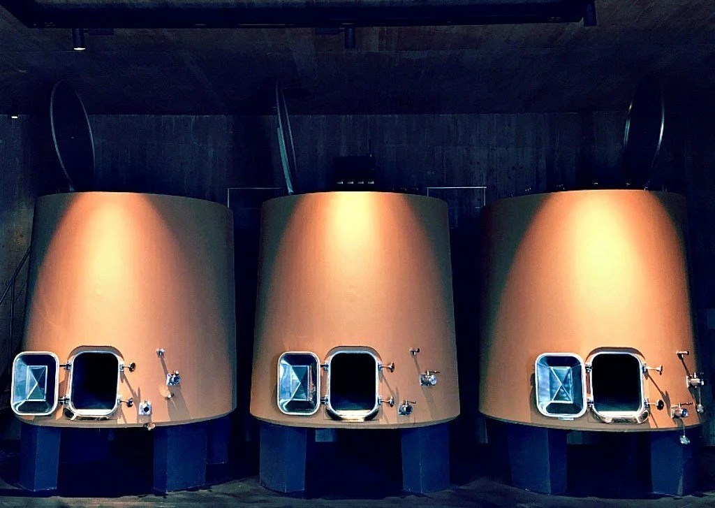 Winemaking at the Sanoner winery in Bagno Vignoni