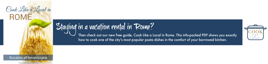 Cook Like a Local in Rome