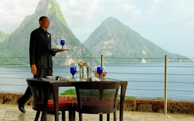 Cooking in Paradise at Jade Mountain, St. Lucia