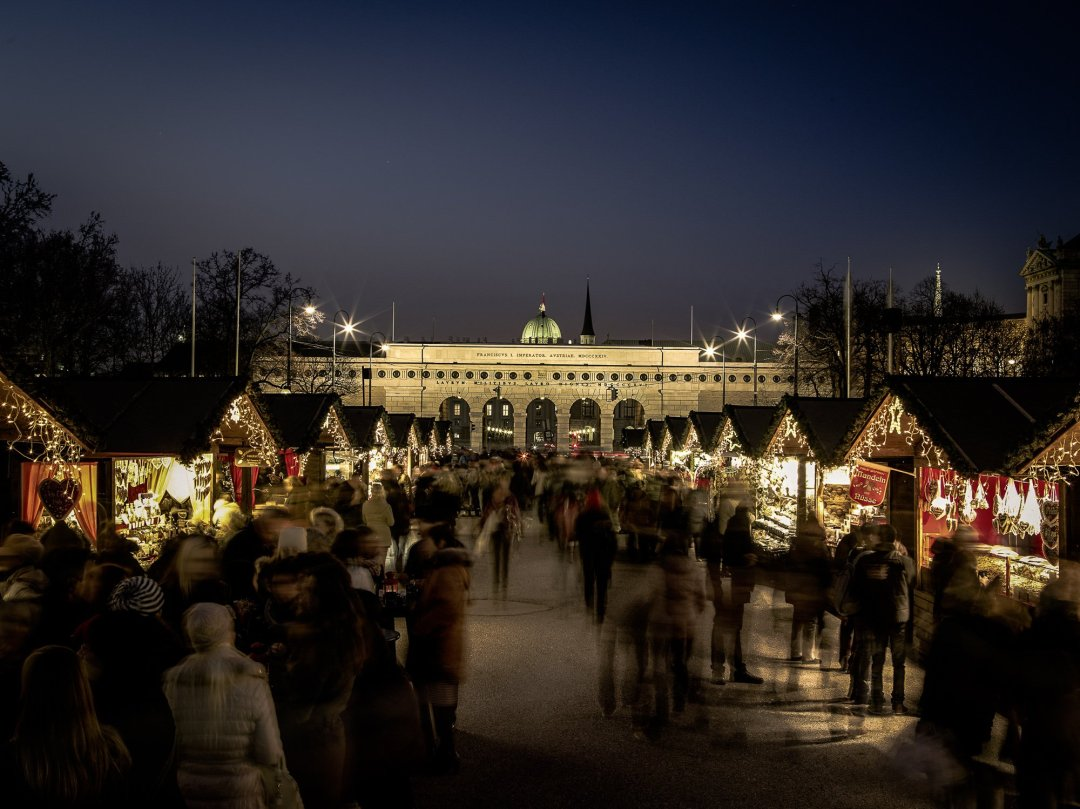 Vienna Christmas Market at Maria Theresien Platz