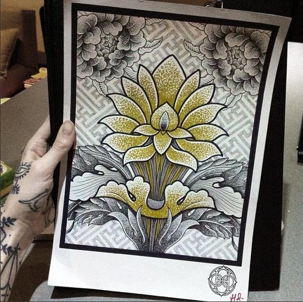 Hannah Pixie Snowdon - Tibetan art