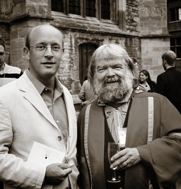Michael Ward and Malcolm Guite - Oxford - Image (c) Lancia E. Smith