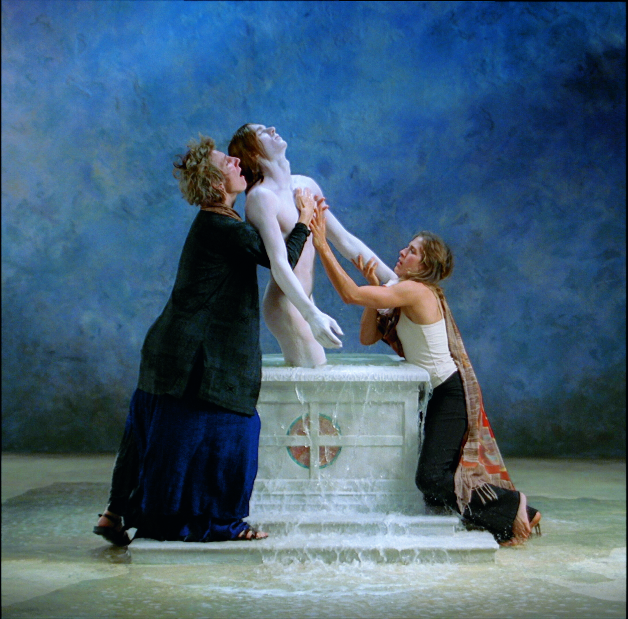 The Bill Viola exhibit in Florence and a short video of The Deluge