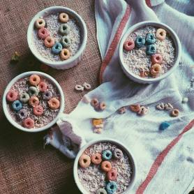 Lucky Charm Smoothie Bowl