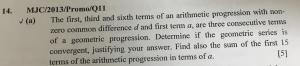 Question 14a MJC/2013