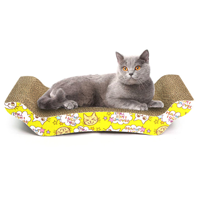 kitty couch scratching board