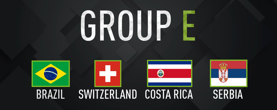 World Cup 2018 Group E