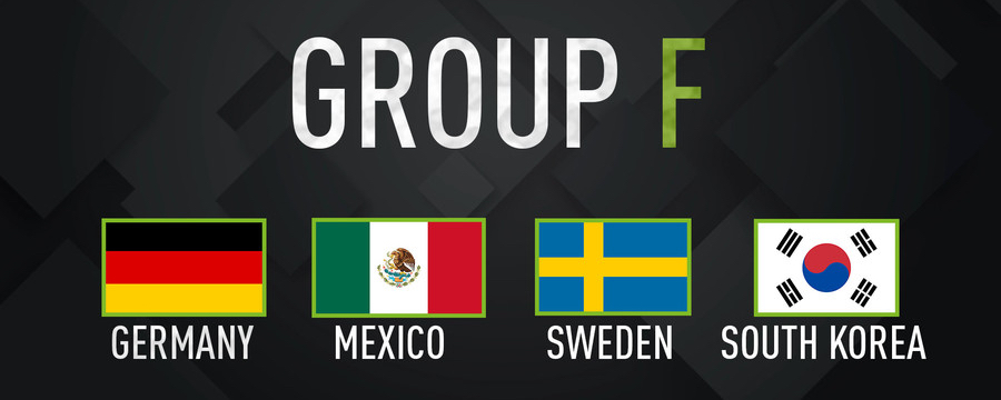 World Cup 2018 Group F