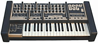 Synthesiser, invented in the 1960s, this example 1983