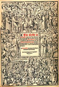 The Great Bible: title page