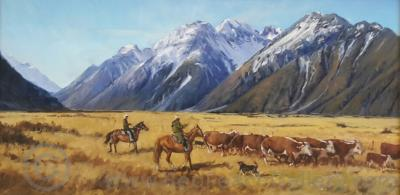 Cattle Muster, by Don Hill.