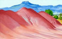 O'Keeffe, Red Hills and Pedernal, 1936