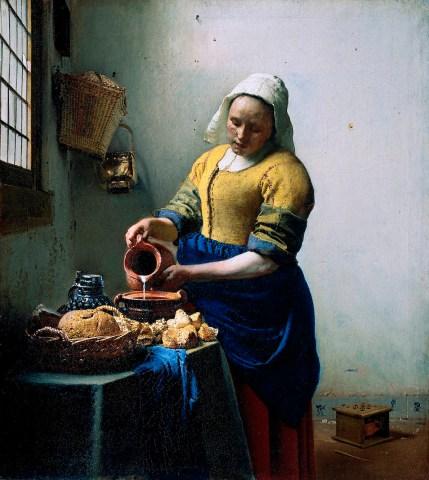 Vermeer, The Milk Maid, 1658