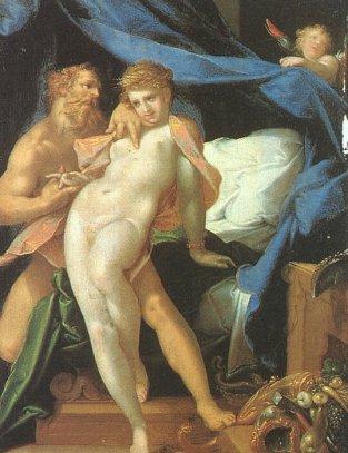 Bartholomeus Spranger, Vulcan and Maia, 1590.