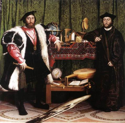 Hans Holbein the Younger, The Ambassadors, 1533.