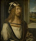 Self Portrait at Twenty-Six, Albrecht Dürer, 1498