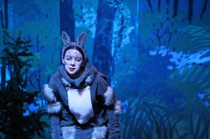 Lauren Karl as the Wolf