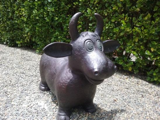 Monument - Cow, by Gregor Kregar