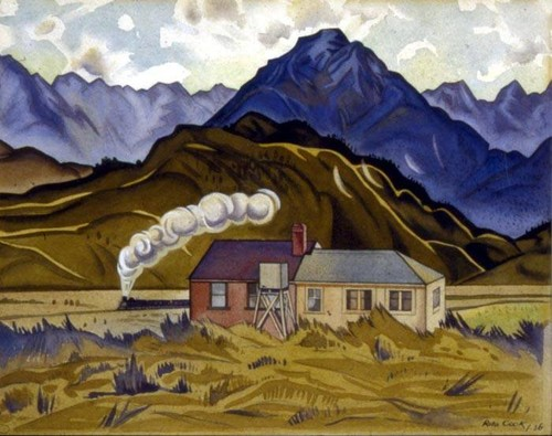Rita Angus, Mountain Biological Station, Cass 1936