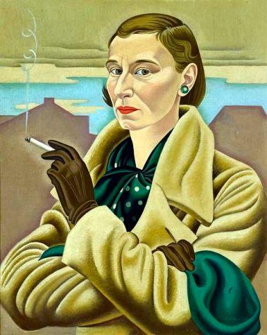 Rita Angus, Self-Portrait, 1936-37.
