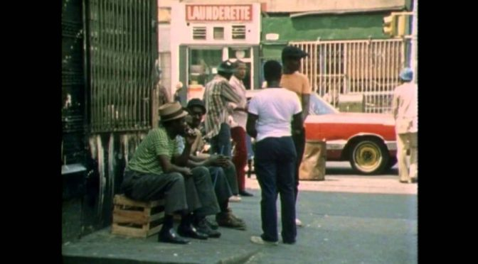 VOD Feature Film: Harlem Voices, Faces 1973 was blasted by Harlemites in the NYTimes.