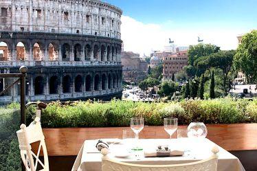10 Panoramic Restaurants in Rome