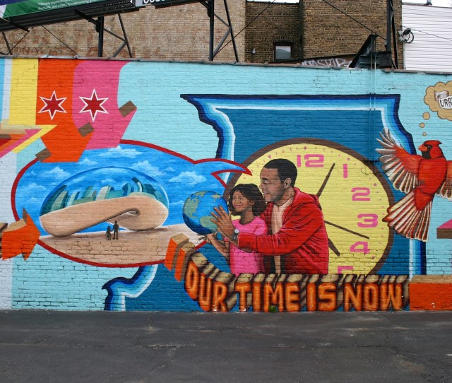 We Are Here Our Time Is Now Brightens Up A Rogers Park Parking