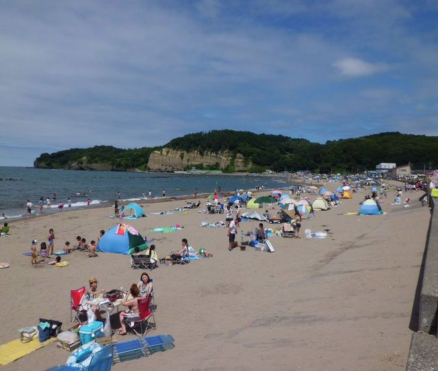 Ranshima Beach In Otaru City Hokkaido Japan  E7 A6 81 E6 A8 B9 E3 81 Aa E3 81 9a E3 81 Aa