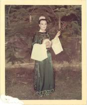 Chu Hing Wah in Cantonese Opera Costume 朱興華身穿戲服留影