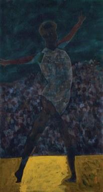 1988 水墨 設色 紙本 Ink and Colour on Paper 180.5 x 96.6 cm