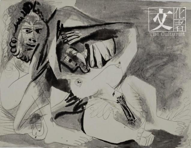 畢卡索的油畫作品 Homme Et Femme Nus,露骨地展現他狂野的慾望,他很早便畫裸女,估價25萬英鎊起。