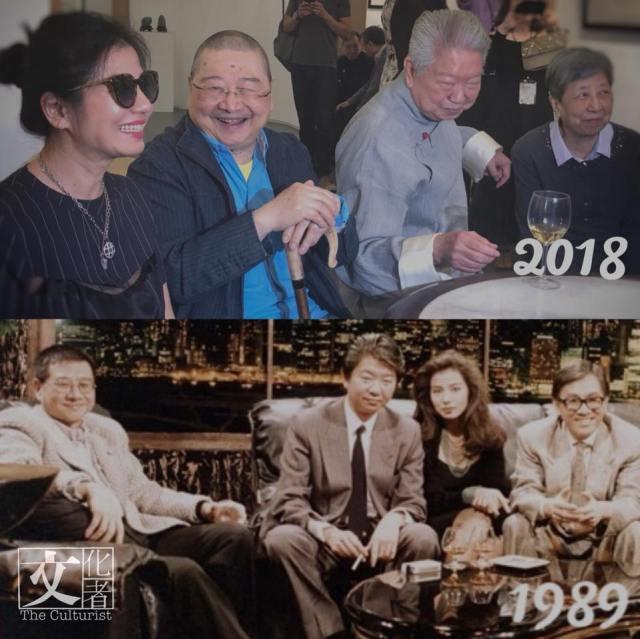 蔡瀾蘇美璐書畫聯展