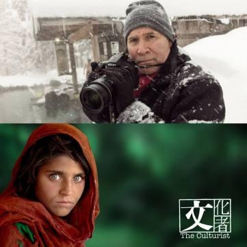 Kodak宣佈停產Kodachrome,將最後一卷菲林交給當年曾以此菲林拍下 「Afghan Girl」的知名攝影師Steve McCurry使用。 (網上圖片)