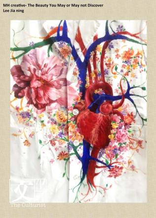 在醫生袍上創作,讓醫科學生反思生命。