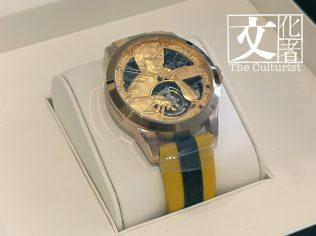 香港品牌「萬希泉」與李小龍會最近合作推出的陀飛輪手錶,在日本有售