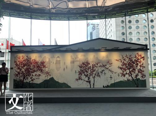 偌大的《一江春水千帆過》是必看巨作,有吳冠中的江南風味。