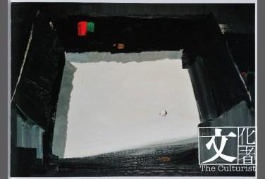 作品《四合院》,捐贈於2014