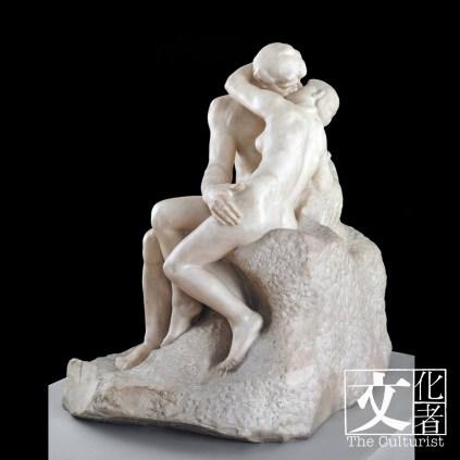 奧古斯特‧羅丹(1840–1917), 吻, 1901-4 Tate: Purchased with assistance from the Art Fund and public contributions 1953 © Tate, London 2018