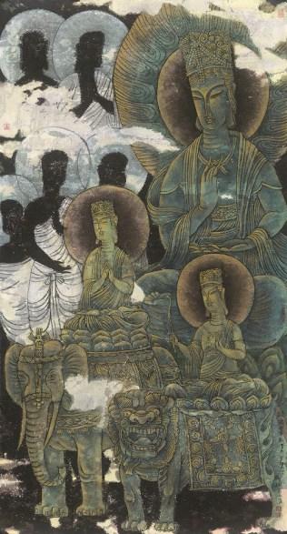 劉樹楓作品《救渡眾生》
