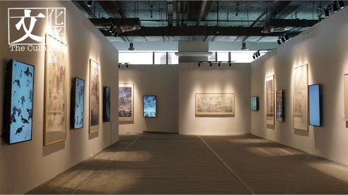 「動‧水墨」多媒體專區多達21組作品。