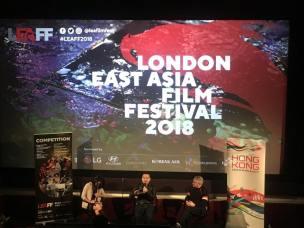 導演歐文傑較早前在英國倫敦出席東亞電影節,分享他的電影人生。