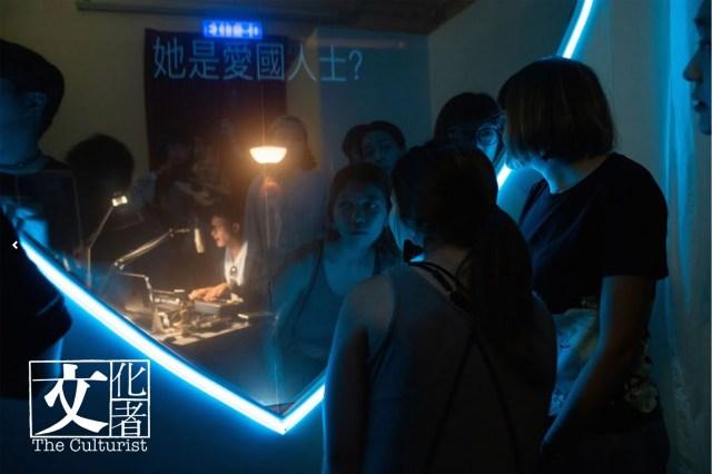 006-在直播室隔著玻璃與主持人「互動」