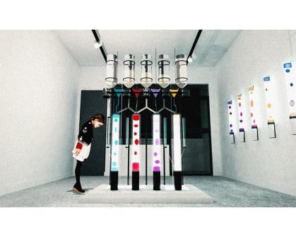 TH Studio 的作品「脫·色」(de Colour)。