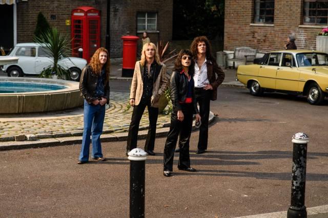 《Bohemian Rhapsody 波希米亞狂想曲:搖滾傳說》連奪最佳音效剪接、最佳混音和最佳剪接。(劇照)