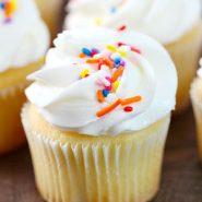 Pastelitos de vainilla estilo panadería